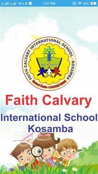 Faith Calvary International School - Kosamba poster