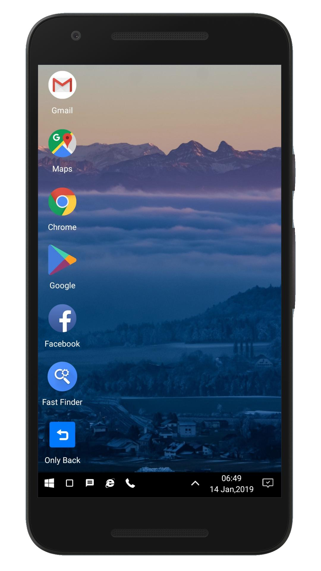 WX Launcher – Windows 10 styled 2019 Launcher v1.1.8195S Cracked APK 1