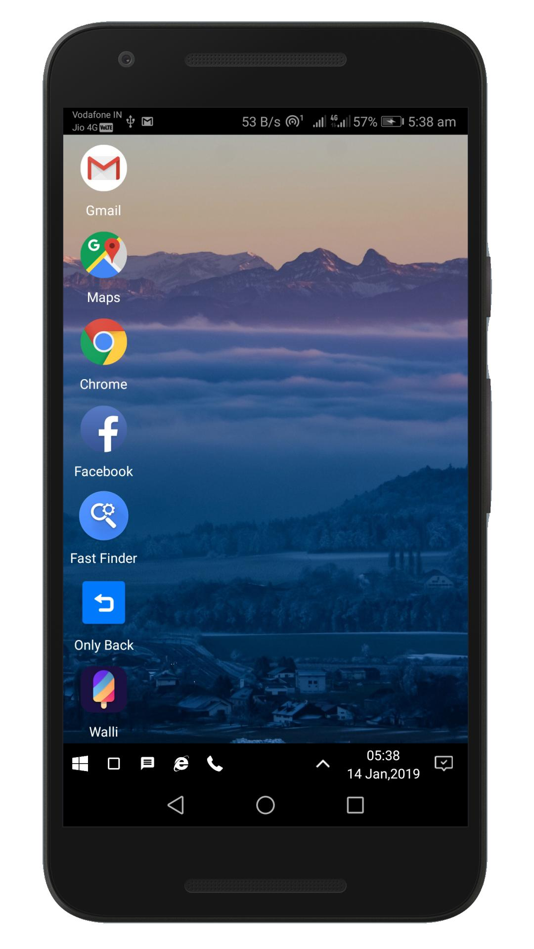 WX Launcher – Windows 10 styled 2019 Launcher v1.1.8195S Cracked APK 2