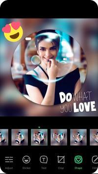 Pic Collage Photo Editor & Beauty Selfie Cam تصوير الشاشة 5