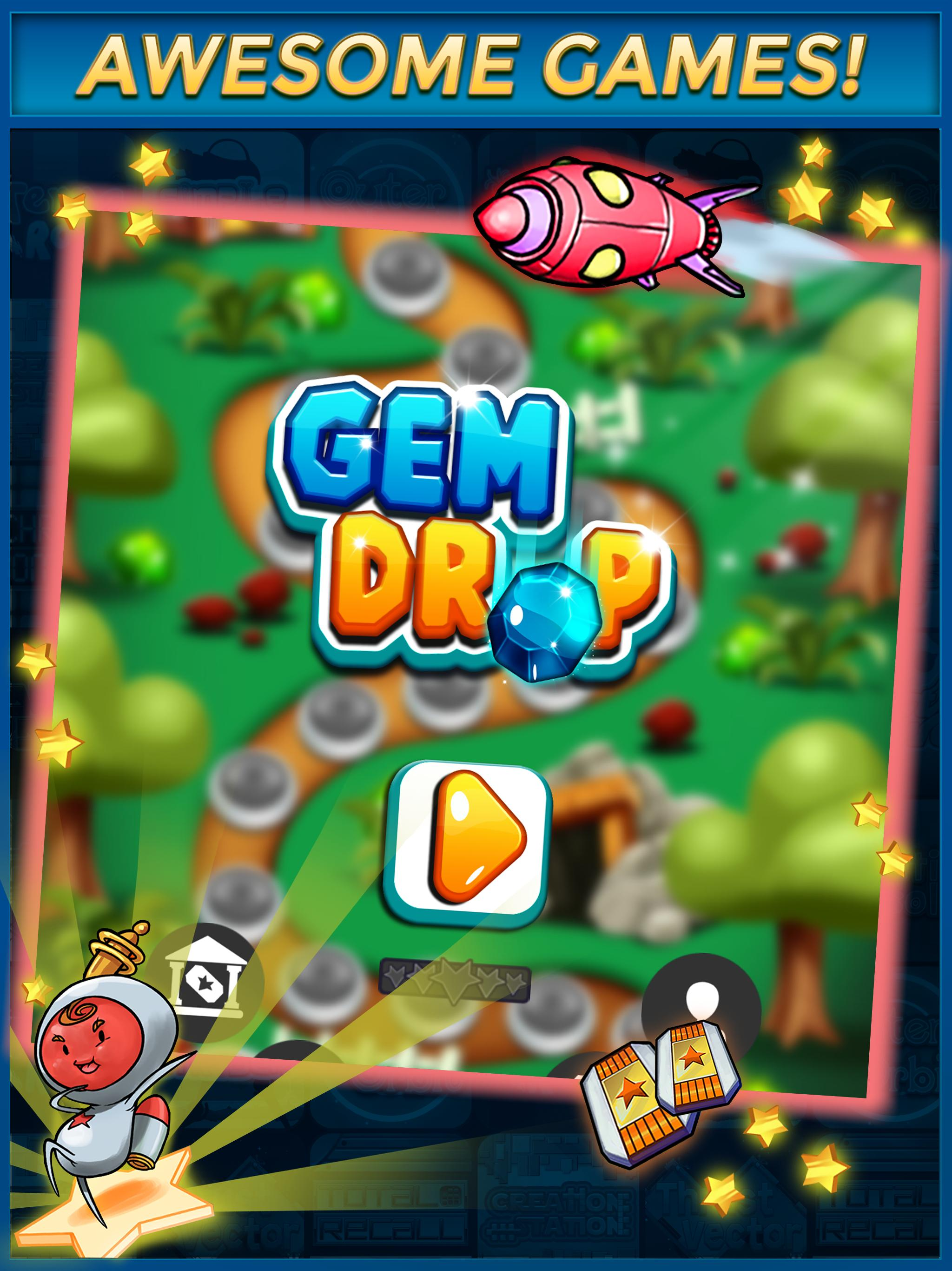 Play Gem Drop