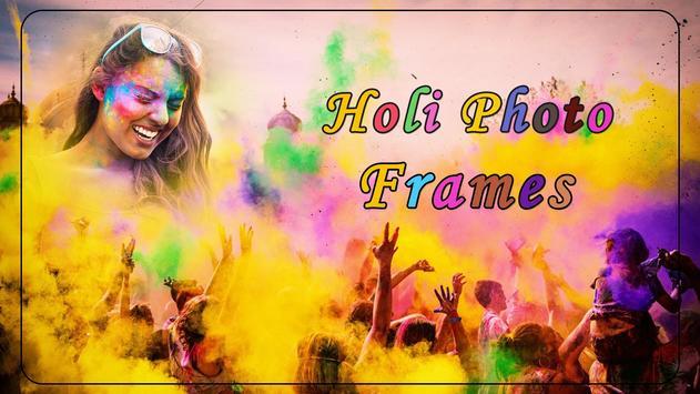 Holi Photo Frames poster