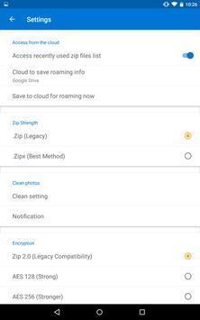 WinZip screenshot 10