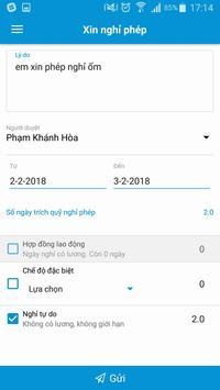 WISAMI - Chấm công & xin nghỉ phép trực tuyến screenshot 4