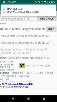 Metro Alert! screenshot 1