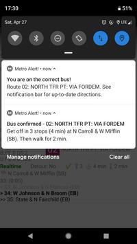 Metro Alert! screenshot 4