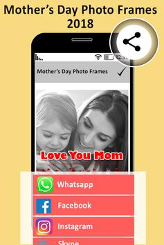 Mother's Day Photo Frame poster