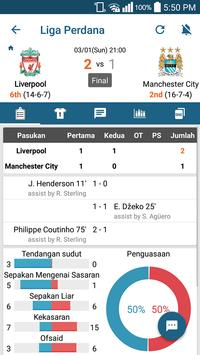 SkorBola LIVE-Sport LiveScore syot layar 1