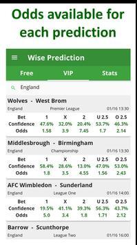 Wise Prediction captura de pantalla 22