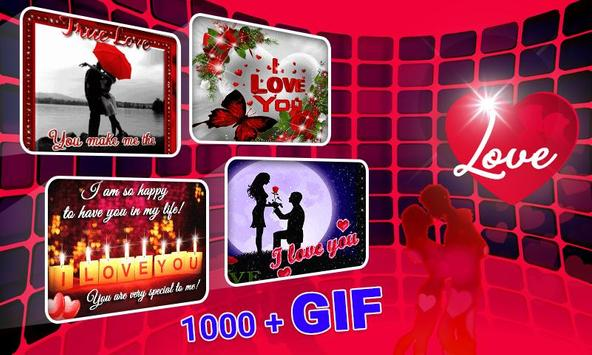 Love Romance Gif screenshot 2