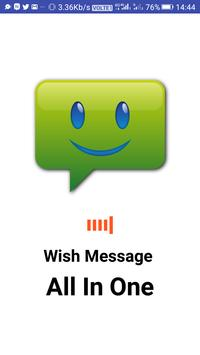 Wish Message poster