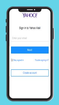 Poster Email Yahoo mail - Login for Gmail, mobile App