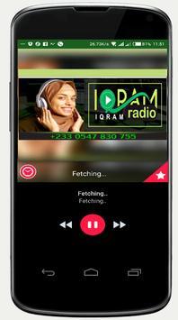 Iqram Radio poster