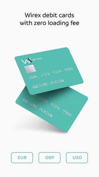 WIREX: Bitcoin Ethereum Litecoin XRP Wallet screenshot 1