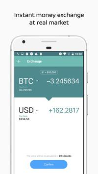 WIREX: Bitcoin Ethereum Litecoin XRP Wallet screenshot 2