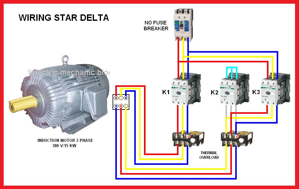 Wiring Diagram Star Delta For Android