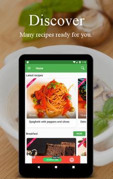 Vegetarian and vegan recipes screenshot 16