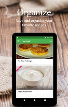 Vegetarian and vegan recipes screenshot 19