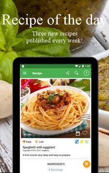 Vegetarian and vegan recipes screenshot 23
