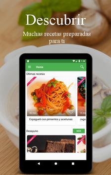 Recetas Vegetarianas y Veganas captura de pantalla 16