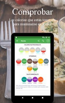 Recetas Vegetarianas y Veganas captura de pantalla 18