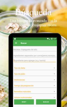 Recetas Vegetarianas y Veganas captura de pantalla 22