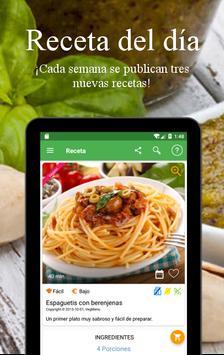 Recetas Vegetarianas y Veganas captura de pantalla 23