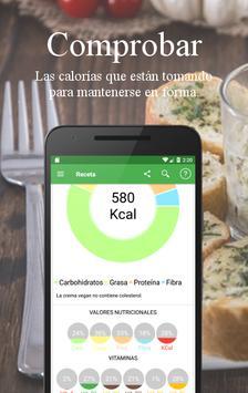 Recetas Vegetarianas y Veganas captura de pantalla 2