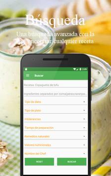 Recetas Vegetarianas y Veganas captura de pantalla 5