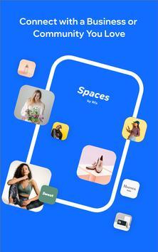 12 Schermata Spaces by Wix