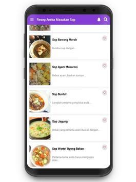 Resep Aneka Masakan Sop screenshot 1