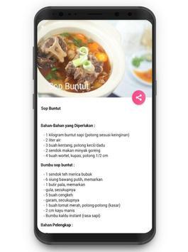 Resep Aneka Masakan Sop screenshot 3