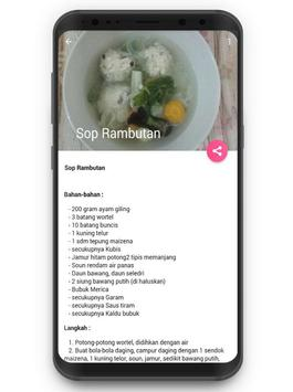 Resep Aneka Masakan Sop screenshot 4