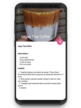 Resep Aneka Minuman Kopi Cafe screenshot 2