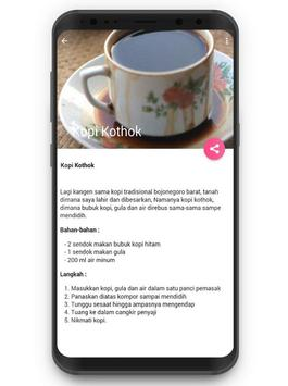 Resep Aneka Minuman Kopi Cafe screenshot 3