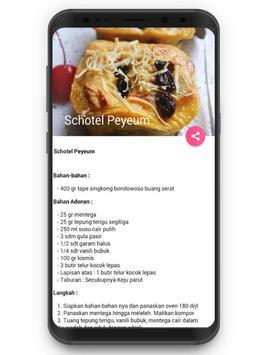 Resep Makanan Tape Singkong screenshot 3