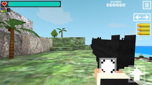 Block Gun 3D: Ghost Ops screenshot 11
