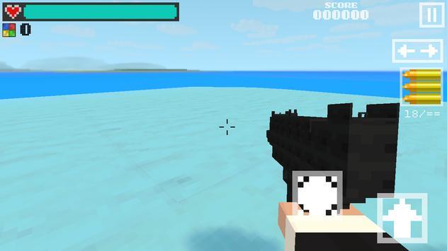 Block Gun 3D: Ghost Ops screenshot 1