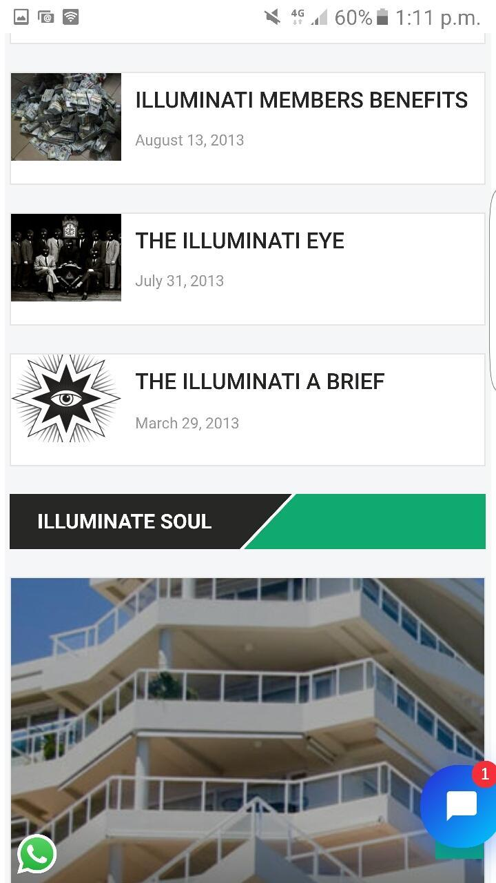 join Illuminati Secret Society 666 power Riches for Android - APK