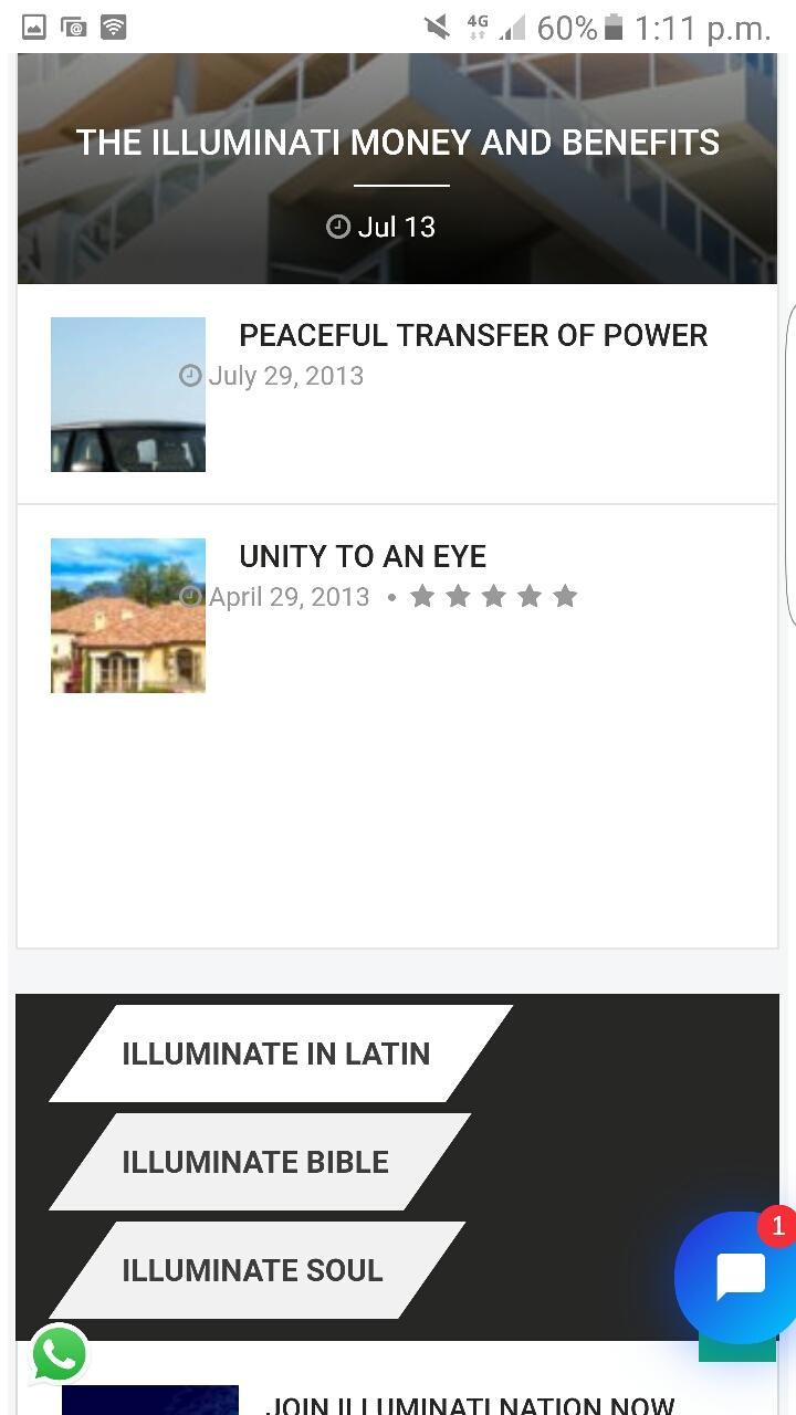 join Illuminati Secret Society 666 power Riches for Android