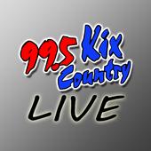 Kix Country Live icon