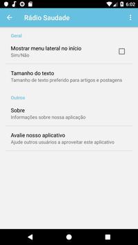 Rádio Saudade screenshot 4