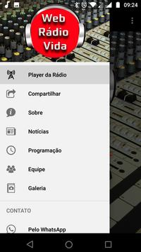 Web Rádio Vida screenshot 1