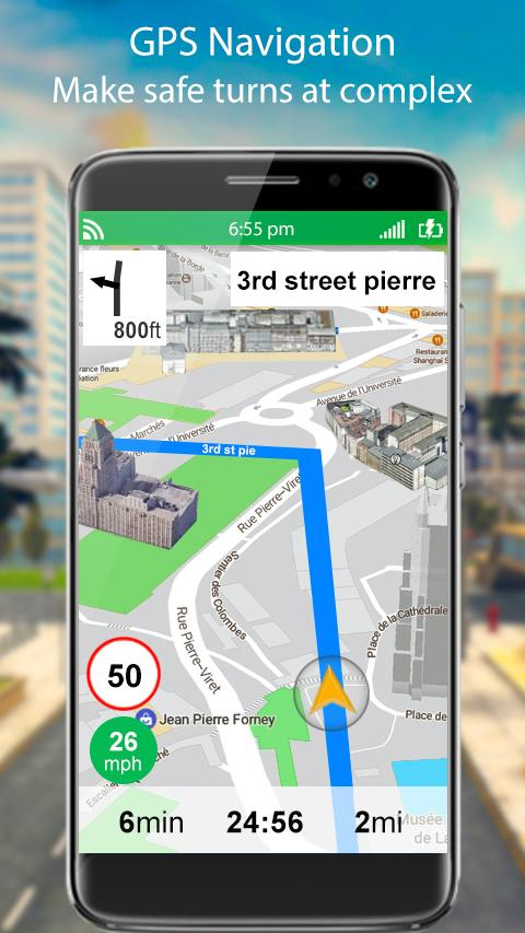GPS Live Street Map and Travel Navigation for Android - APK