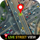 GPS Live Street View and Travel Navigation Maps icon