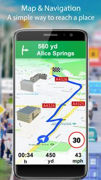 GPS Live Street View and Travel Navigation Maps poster