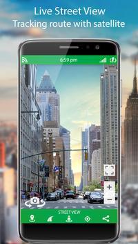 GPS Live Street View and Travel Navigation Maps screenshot 1