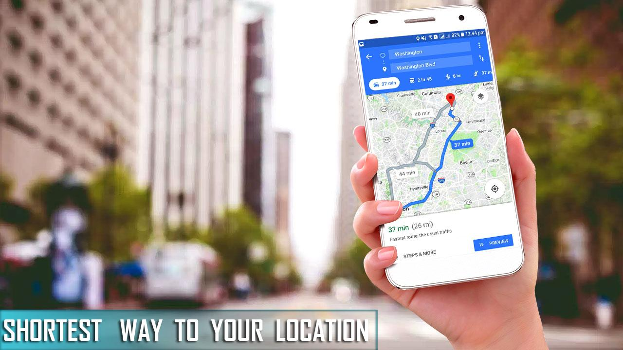 My Location Live Street View, Maps & Navigation for Android