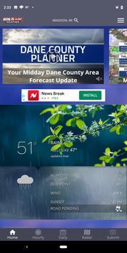 NBC15 Weather ポスター