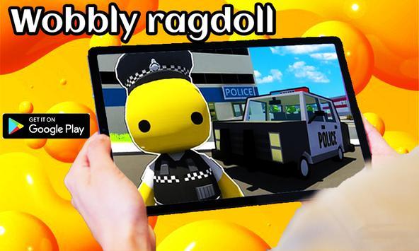 Wobbly life gameplay Ragdolls poster